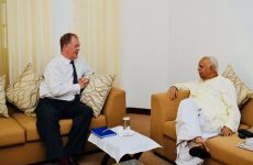 Sampanthan shares his  displeasure on the slow pace of releasing of lands with EU