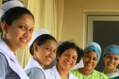 64% of professionals are women in Sri Lanka