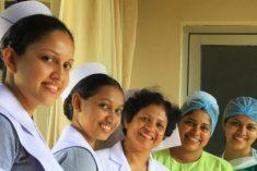 64% of professionals are women in Sri Lanka