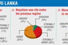 Sri Lankans Reject Nepotism: LMD/TNS Poll