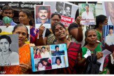 Sri Lanka: That the Constitution allows enforced disappearances is a big lie  (Loku boruwak!)