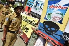 Fonterra shuts down in Sri Lanka after 'threats'  form the ruling party supporters