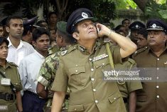 The dark legacy of retired IGP Chandra Fernando, now a commissioner to investigate allegations of political victimization in Sri Lanka.