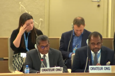 Investigate & prosecute those accused of war crimes, civil society calls on IC at HRC 40