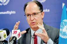 Sri Lanka must step up progress on transitional justice – Pablo de Greiff ( text and recommendations)