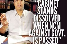 Cabinet of Ministers shall stand dissolved, when Parliament passes a vote of no-confidence – Rajeev Amarasuriya