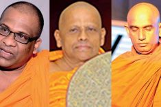 Gnanasara, Rathana and Asgiriya Chapter Seeds of a national crisis in the making