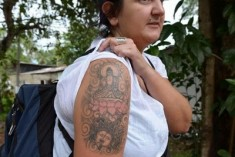 Under which law did the Magistrate make the order to deport the lady tourist with the Tattoo of Lord Buddha?