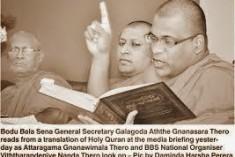 Expose and Isolate the Bodu Bala Sena Extremism Locally & Internationally