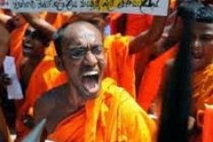 Sri Lanka: Monks break up US-sponsored seminar for journalists