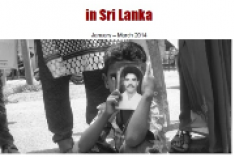 Repression of Dissent  in Sri Lanka –  January – March 2014, INFORM report