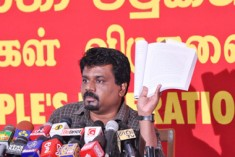 People are heavily taxed; Govt. holds car races, Did Rajapaksha revealed budget secrets to his sons? – JVP