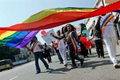 Sri Lankan LGBTQI+ community and allies condemn President Sirisena's homophobic comments.