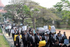 Lawyers stay away from courts, BASL says protest success .
