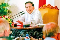 President Sirisena Fires On All Cylinders at Rajapaksa