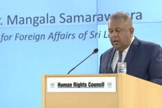 Sri Lanka FM Samaraweera's statement at HRC 34 – Full text