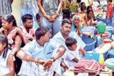 Sri Lanka Navy expels resettling Muslims, destroys huts in Musali, Mannaar
