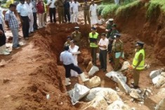 Mass grave  of Sinhala insurgents? 27 and counting
