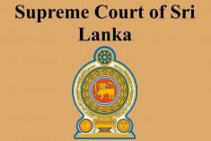 Full text of the SC determination of  the draft 20th Amendment to the constitution of Sri Lanka