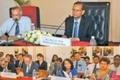Sri Lanks  briefs diplomats on action taken against terrorist funding  .
