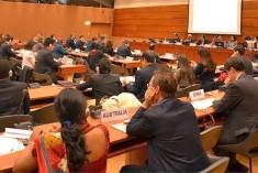 Secretary Weeratunga briefs Geneva diplomats on progress in national reconciliation