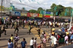 A second Sri Lankan protester died of gun shot wounds