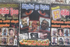 Posters Pasted Against 'Remembrance of the Disappeared' To Be Held Tomorrow