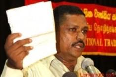 TU leader of CEB threatened with death
