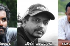 Sri Lanka:3 journalists charged by Rajapaksa regime  acquitted