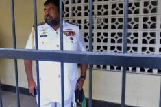 Sri Lanka's top military officer Ravindra Wijegunaratne detained