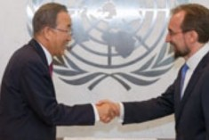 Ban Ki Moon &  Zeid Ra'ad Al Hussein to Visit Sri Lanka  Early 2016