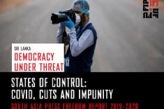 IFJ Asia Pacific  World Press Freedom Report:  Democracy under threat in Sri Lanka.