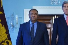 Foreign Minister of Sri Lanka Mangala Samaraweera Meets Secretary of State John Kerry