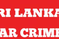TNA MP Sumanthiran Calls for 'Internationalised Prosecutions'