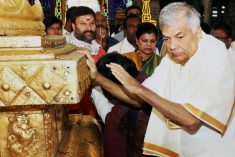 Sri Lanka to incur huge amounts in honoring PM Wicremasinghe