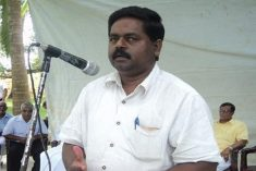 Sri Lanka parliamentarian S. Shritharan complains that he and his family are harassed frequently by security personnel