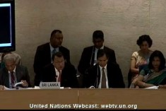 UPR Sri Lanka 2012: The end note and change text drama