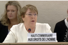 I have been a political detainee and the daughter of political detainees. I have been a refugee and a physician – Michelle Bachelet
