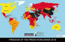 2018 WORLD PRESS FREEDOM INDEX:  Hatred of journalism threatens democracies