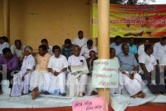 Protest in Vavuniya  ( by TNA against sinhalisation )