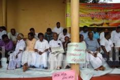 Protest in Vavuniya  ( by TNA against sinhalisation )