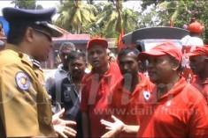 Police stop peace march citing Buddhist clergy opposition