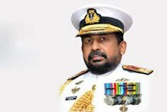 President Sirisena is trying to protect mass murder suspect Admiral Ravindra Wijegunaratne.