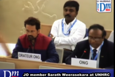 Sri Lanka: I have a list of people to be hanged – Rajapaksa rep Weerasekara