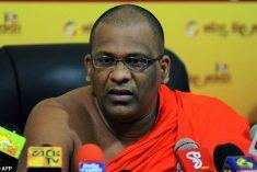 Sri Lanka seeks militant monk's arrest over hate crime