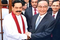 China's top legislator meets Sri Lankan president on bilateral ties